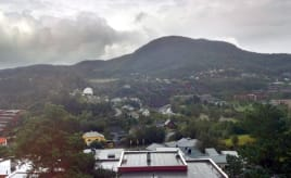 View from my parents' house|Utsikten til foreldrene mine