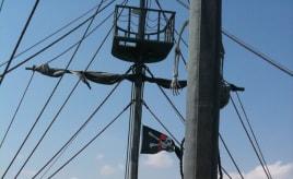 On board the Black Pearl - Skywatch Friday|Ombord på Black Pearl - Skywatch fredag