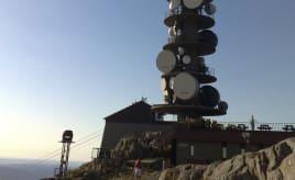 Skywatch Friday - on top of Ulriken|Skywatch Fredag - Antennen på Ulriken