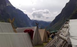 A viking market on our way|Gudvangen Viking marked