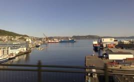 Skywatch Friday - Port of Bergen Skywatch fredag - Puddefjorden