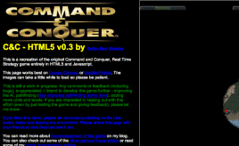 Geek Monday - HTML5 Command & Conquer|Nerdemandag - HTML5 Command & Conquer