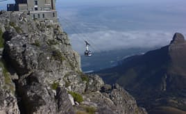Finally on the Table Mountain