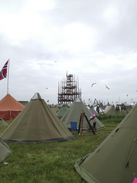 Telt og tårn