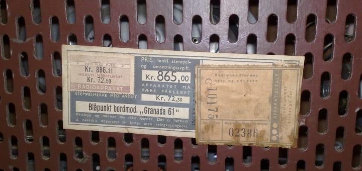 gammel radio