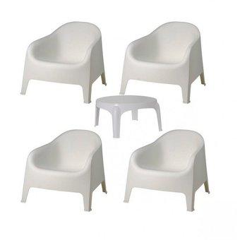 Juego de sillones Skarpo x 4