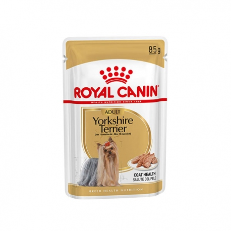 POUCH ROYAL CANIN YORKSHIRE POUCH 85 GRS