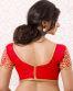 Red Banglori Silk Readymade Designer Blouse