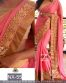 Pink Pure Embroidered Partywear Bollywood Replica Saree
