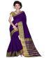 Royal Blue Art Silk Regular Wear Saree