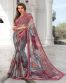 Multi Color Digital Printed Georgette Casual Saree