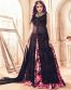 Provocative Party Wear Anarkali Style Suit With Front Slit