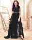 Enthralling Party Wear Anarkali Style Gown With Front Slit