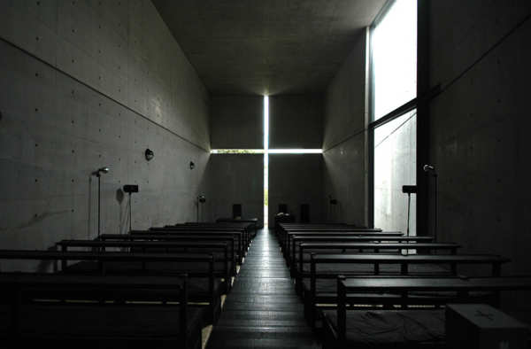 Church of the Light by Tadao Ando - Architectural visualization