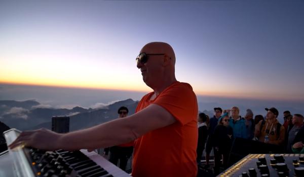 Stephan Bodzin live @ Piz Gloria in Mürren, Switzerland for Cercle