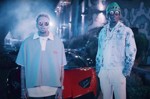 Chris Brown - Go Crazy (Remix) ft. Young Thug, Future, Lil Durk, Mulatto