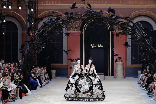 Guo Pei Haute Couture Fall Winter 2019-2020