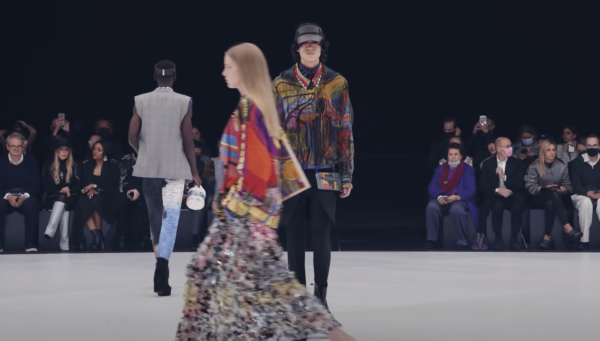 Givenchy Womens and Mens Spring Summer 22 Collection show