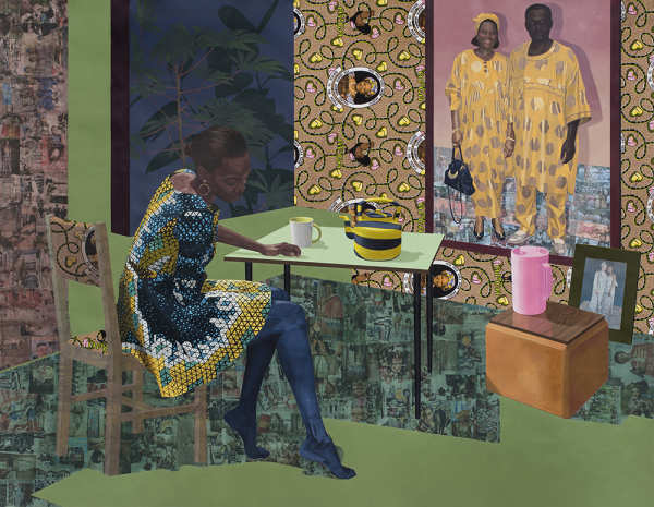 Njideka Akunyili Crosby – Inhabiting Multiple Spaces
