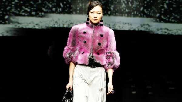 Giorgio Armani Women's Fall Winter 2020-2021 Fashion Show