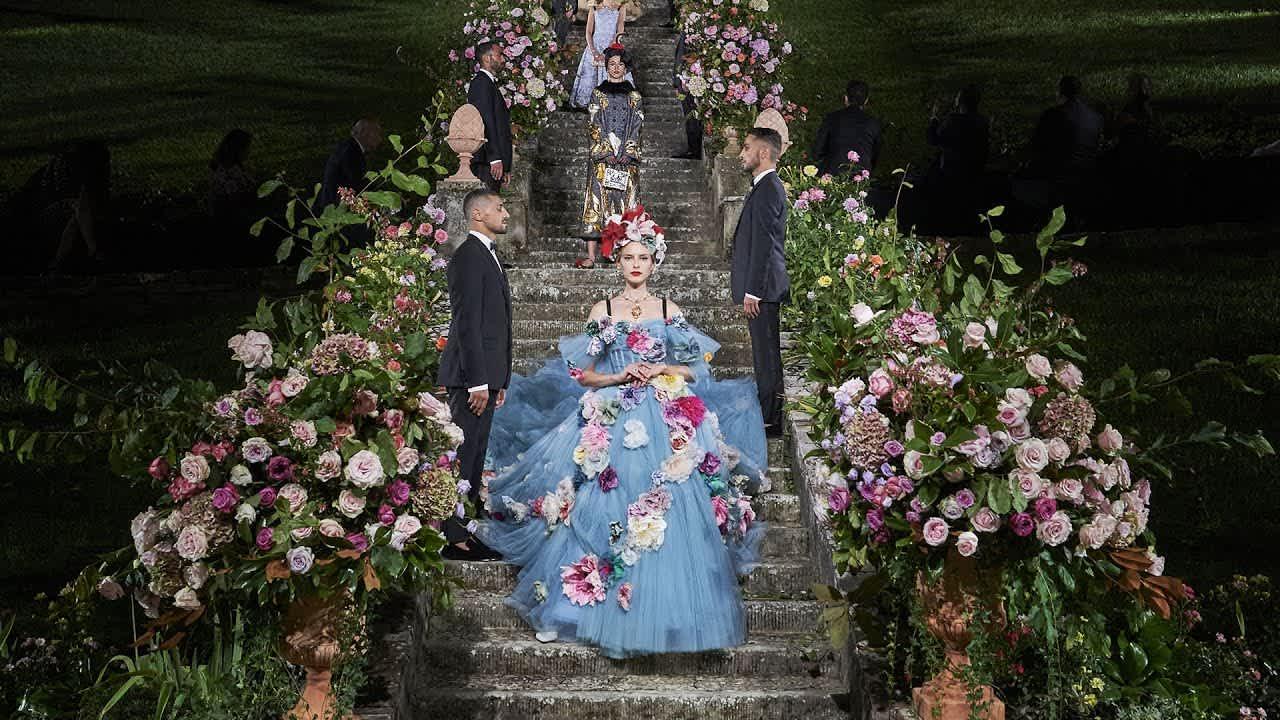 Dolce & Gabbana Alta Moda, Villa Bardini, September 2020