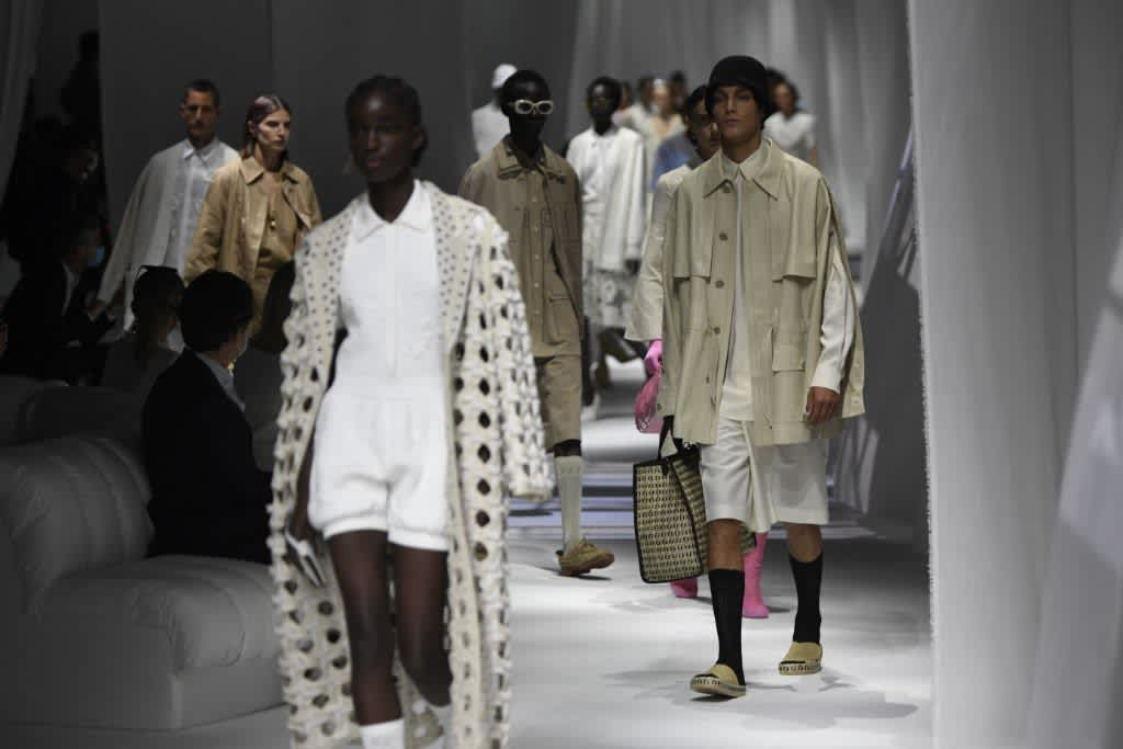 Fendi Women's And Men's Collections Spring/Summer 2021 Fashion Show