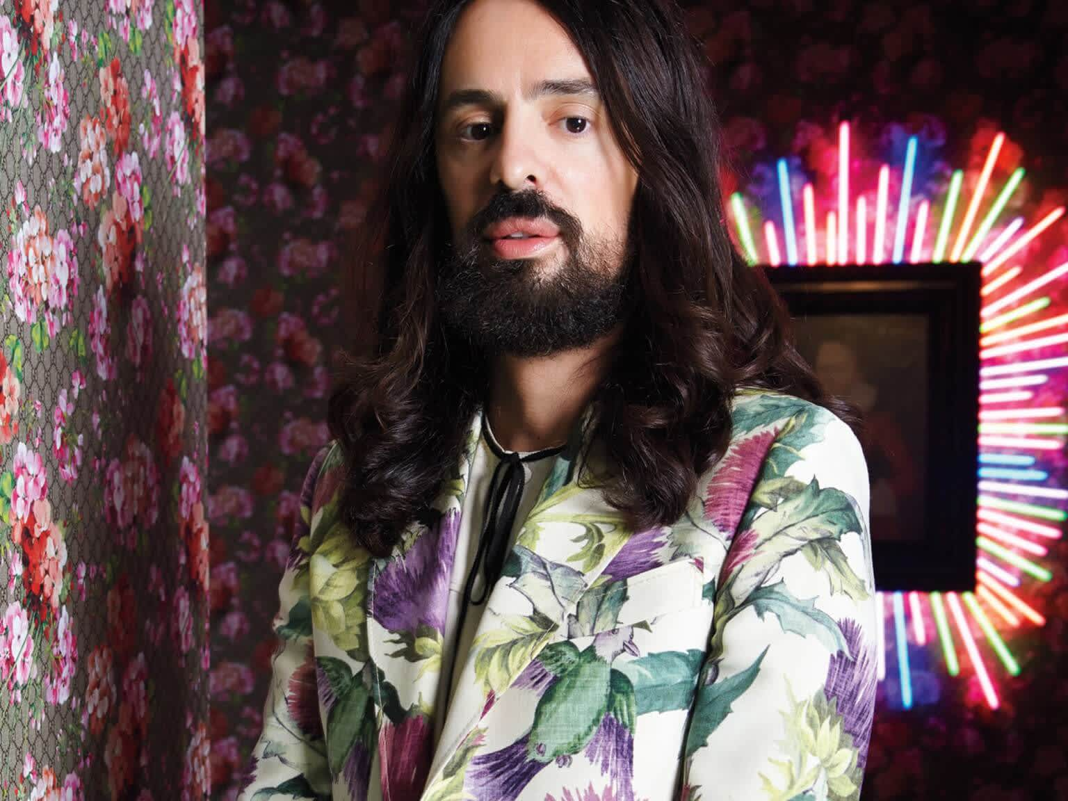 How Gucci's Alessandro Michele Overcame Bullying at School