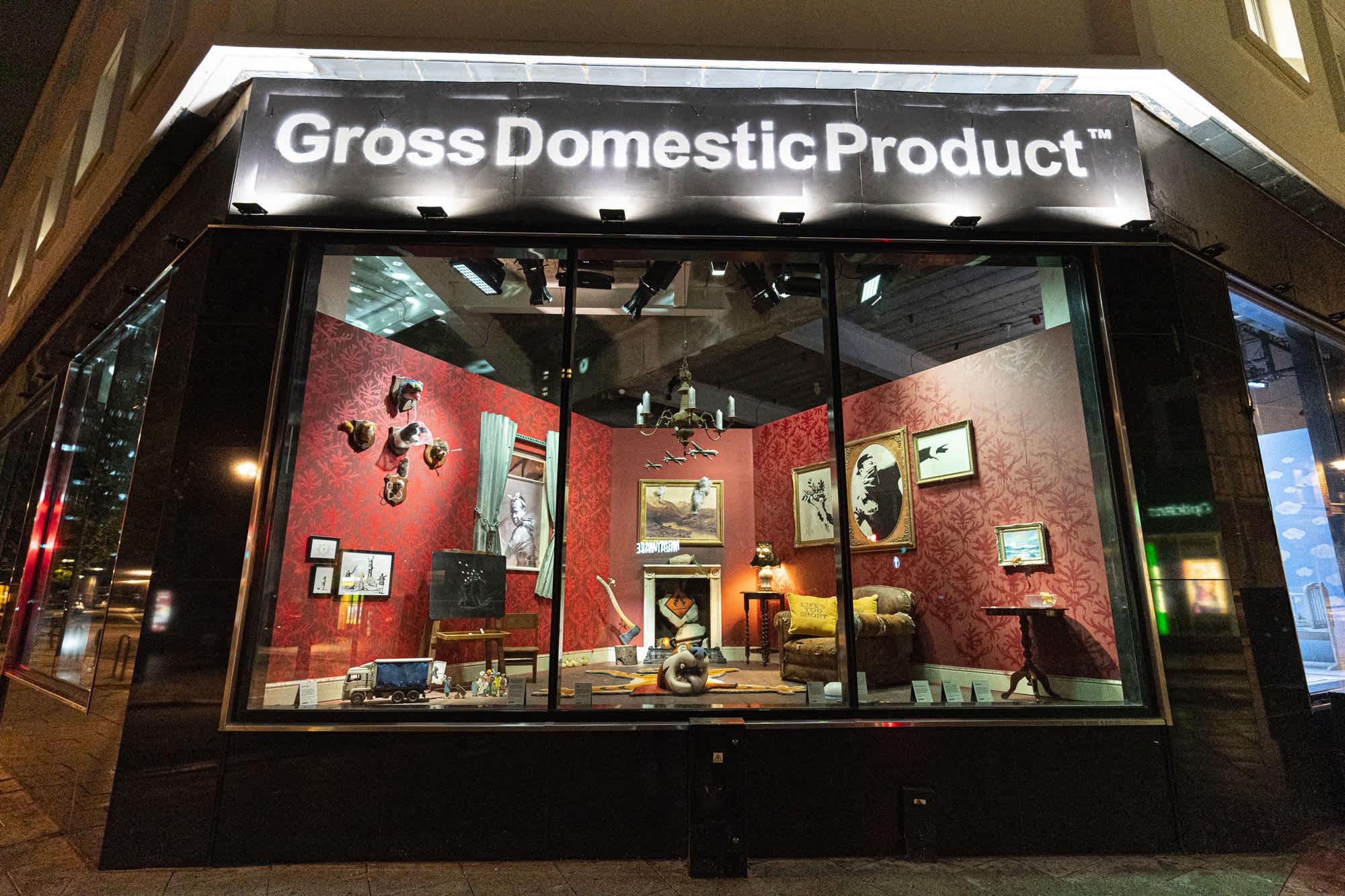 GrossDomesticProduct™ - Banksy Installation