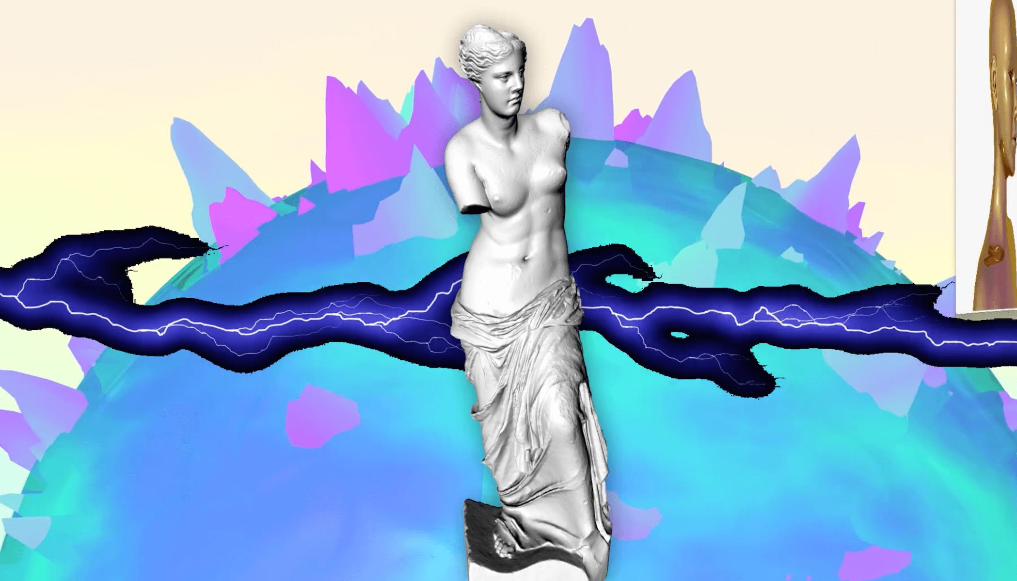 Shines shines Venus.