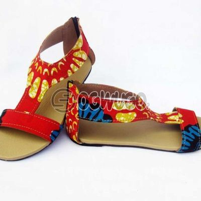 Ankara made female Sandals