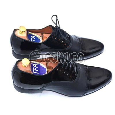 Men's Corporate Nigerian made Shoe with Leather sole.