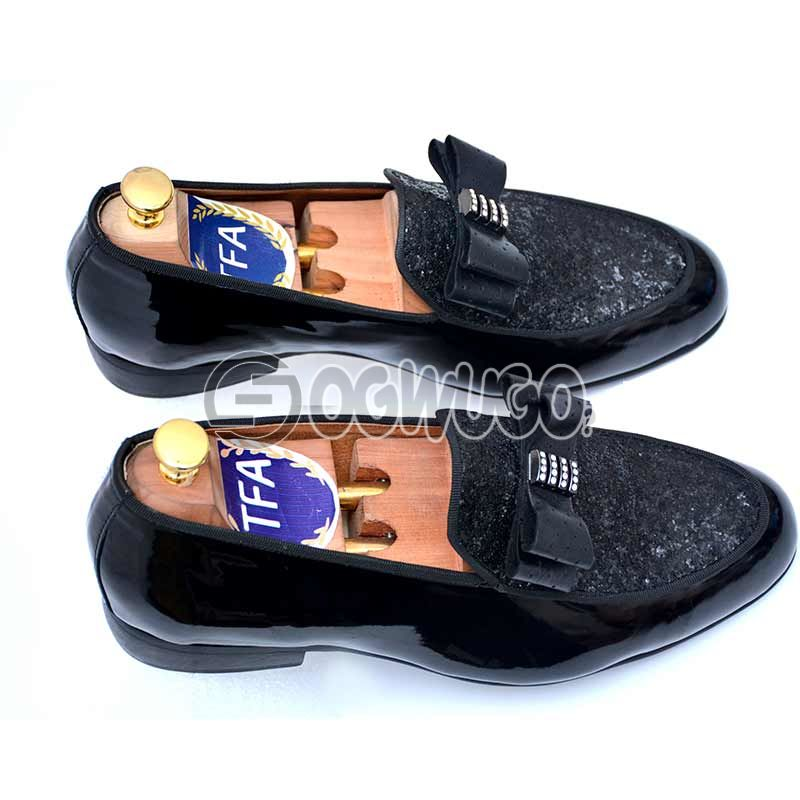 Men's Corporate Nigerian made Shoe with Italian Nora sole.