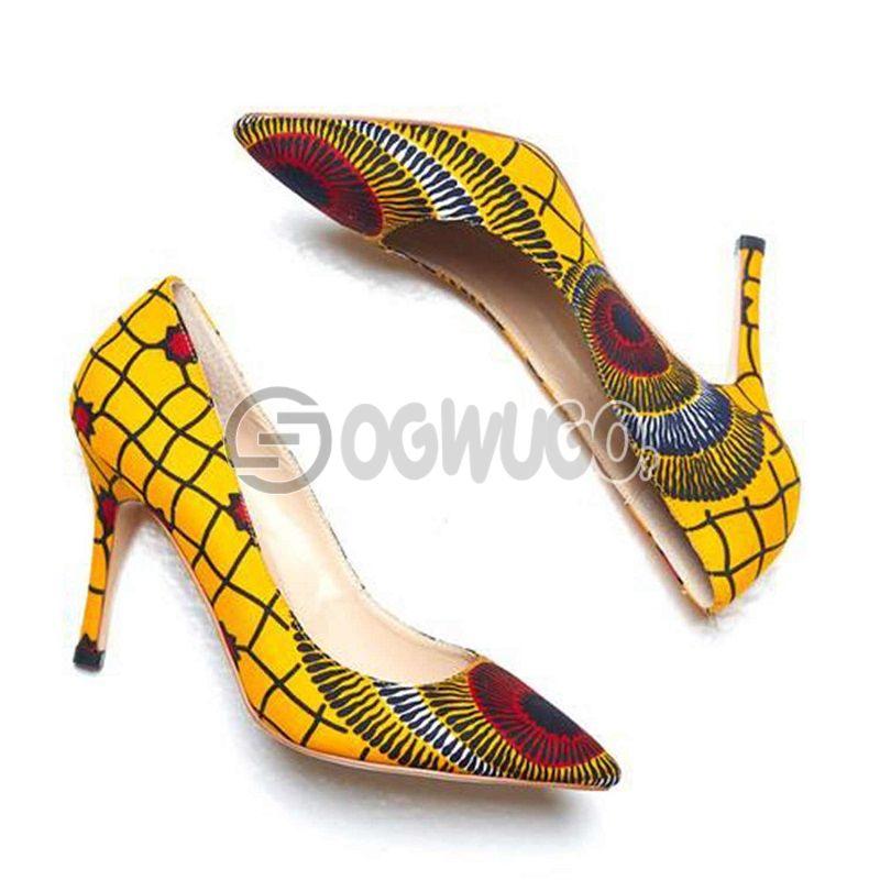 Ankara made Female Shoes