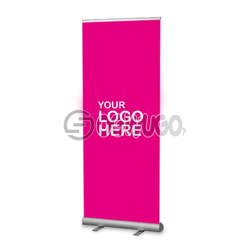 4x8ft Roll Up Stand Machine with Banner.