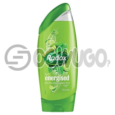Radox Shower Gel: unable to load image