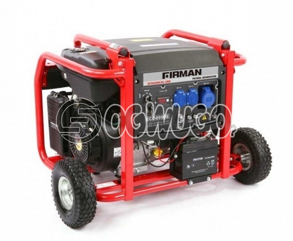 SUMEC FIRMAN GENERATOR ECO 8990ESR WITH REMOTE CONTROL, Sumec Firman Generator.  Model: ECO 8990ESR 7.2KVA AC Frequency (Hz): 50Hz Rated AC Voltage (V): 110,220,230, 240, 110/220, AC Output(W): 6000/6600: unable to load image