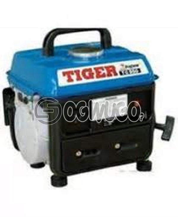 Tiger TG1500 Generator, Auto circuit breaker    Power-1KVA    Voltage-220-240v A.C.    Generator - TG1500: unable to load image