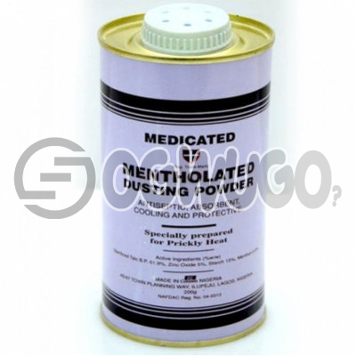 Mentholated Dusting Powder