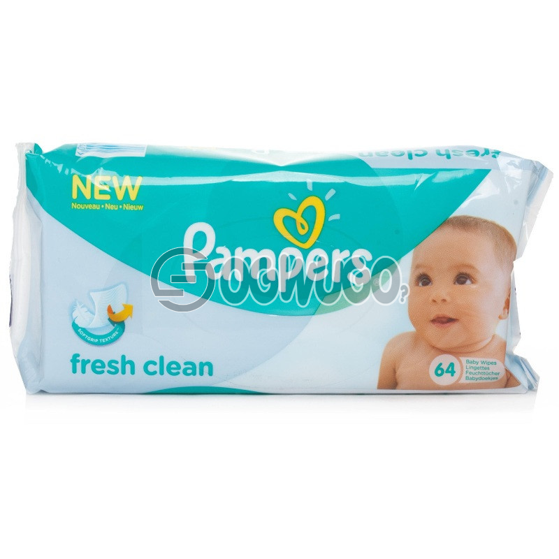 Pampers Fresh Clean Baby Wipes: unable to load image
