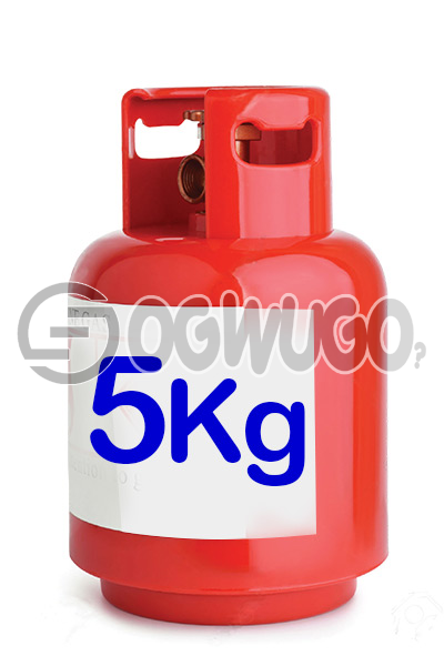 Ogwugo 5KG Cooking Gas Available for Refill Place order now and we will come refill your cylinder wherever, whenever.: unable to load image
