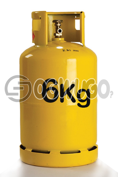 Ogwugo 6KG Cooking Gas Available for Refill Place order now and we will come refill your cylinder wherever, whenever.: unable to load image
