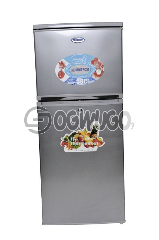 Thermofrost Fridge Model 250 Double Door High Quality, Durable, and Maximum Utility. Order now and have it delivered to your doorstep: unable to load image