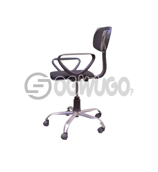 Back Swivel Office Chair: unable to load image