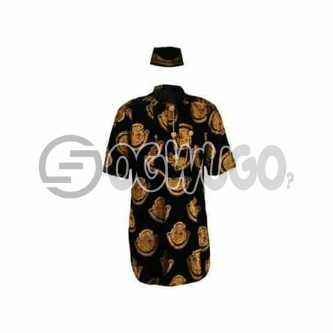 Oyenx Original Isi Agu Traditional wear and cap.  This takes  6 working days to be delivered (If your size is extra large, it will attract an additional N500): unable to load image