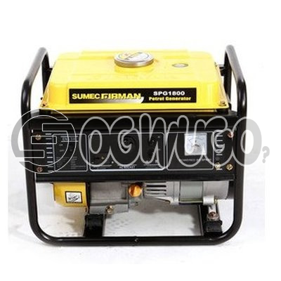 Sumec Firman 1.1KVA Generator SPG 1800 - Manual Start order now and have it delivered to your doorstep: unable to load image