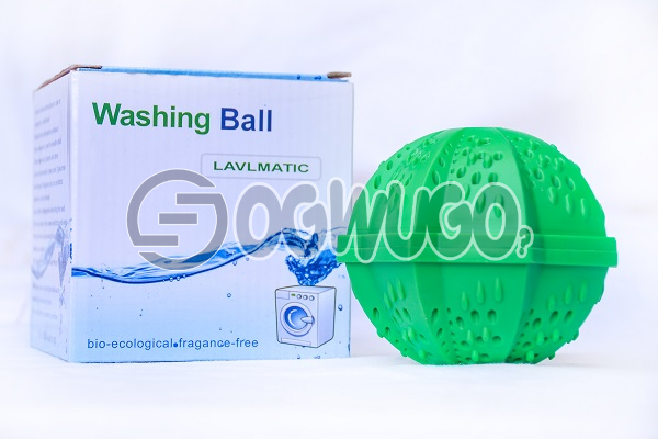 One piece of non-toxic Laundry ball or Washing ball, wash without detergent: unable to load image