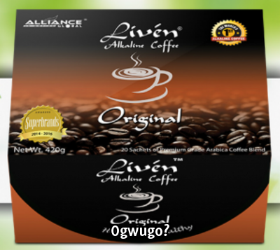 Liven Alkaline Coffee - Original High quality product from Alliance in Motion Global