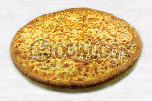 Ultimate Cheese Lovers (LARGE) Made with Thin Crust, Tomato Sauce and Cheese. Ideal for Parties, Hangouts and Get together s with Family and friends. : unable to load image