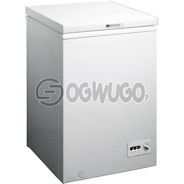 Skyrun Chest Freezer - BD100H 100L Capacity: 100 Litres Chest Freezer, High Efficiency Compressor Adjustable Thermostat.