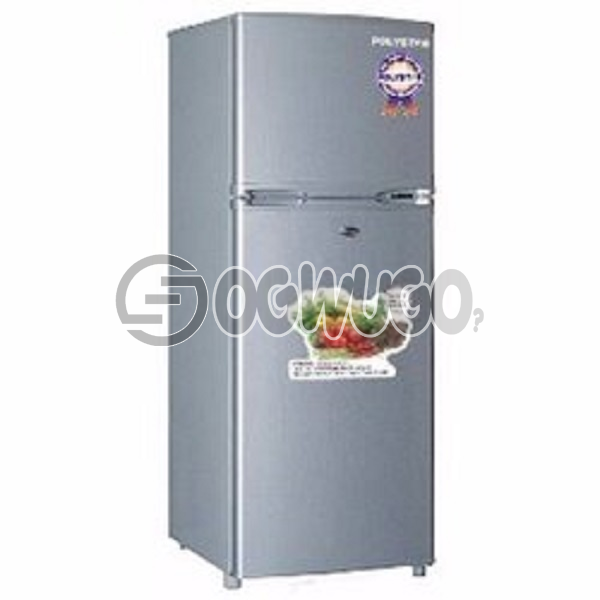 Skyrun Double Door Refrigerator - BCD 138 - 160 litres, 100% HFC Free & FCKW Free Easy to clean interior Fast Freezing Function Lock High Efficiency Compressor Separate Chiller Compartment Weight: 35kg Capacity (L): 130 Door: unable to load image